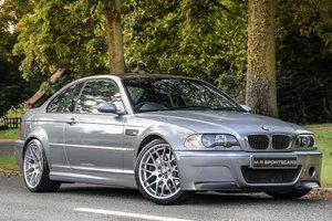 2003 BMW M3 CSL Silver Grey UK RHD For Sale