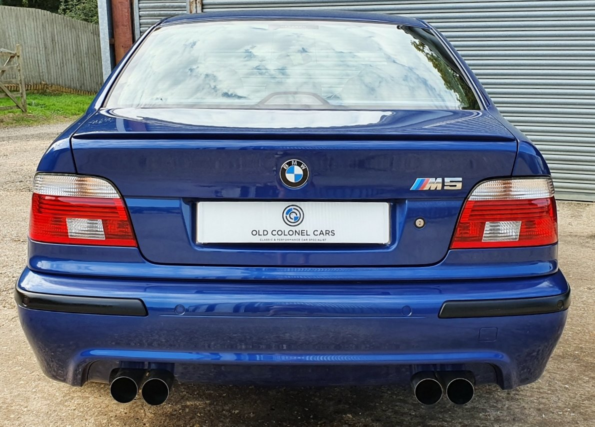 2001 Only 44,000 Miles - Le Mans Blue E39 M5 - Full History SOLD (picture 1 of 10)