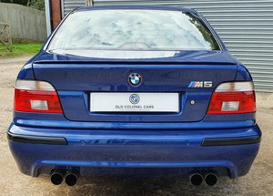 Picture of 2001 Only 44,000 Miles - Le Mans Blue E39 M5 - Full History SOLD