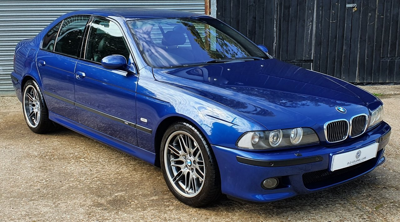 2001 Only 44,000 Miles - Le Mans Blue E39 M5 - Full History SOLD (picture 2 of 10)