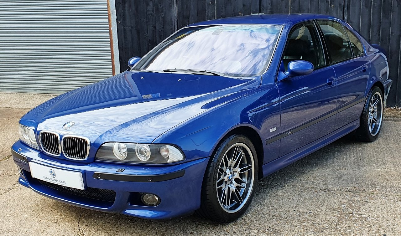 2001 Only 44,000 Miles - Le Mans Blue E39 M5 - Full History SOLD (picture 3 of 10)
