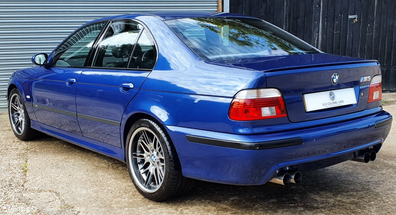 2001 Only 44,000 Miles - Le Mans Blue E39 M5 - Full History SOLD (picture 4 of 10)