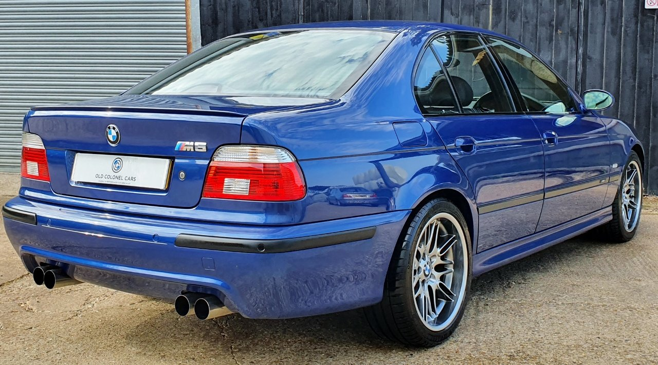 2001 Only 44,000 Miles - Le Mans Blue E39 M5 - Full History SOLD (picture 5 of 10)