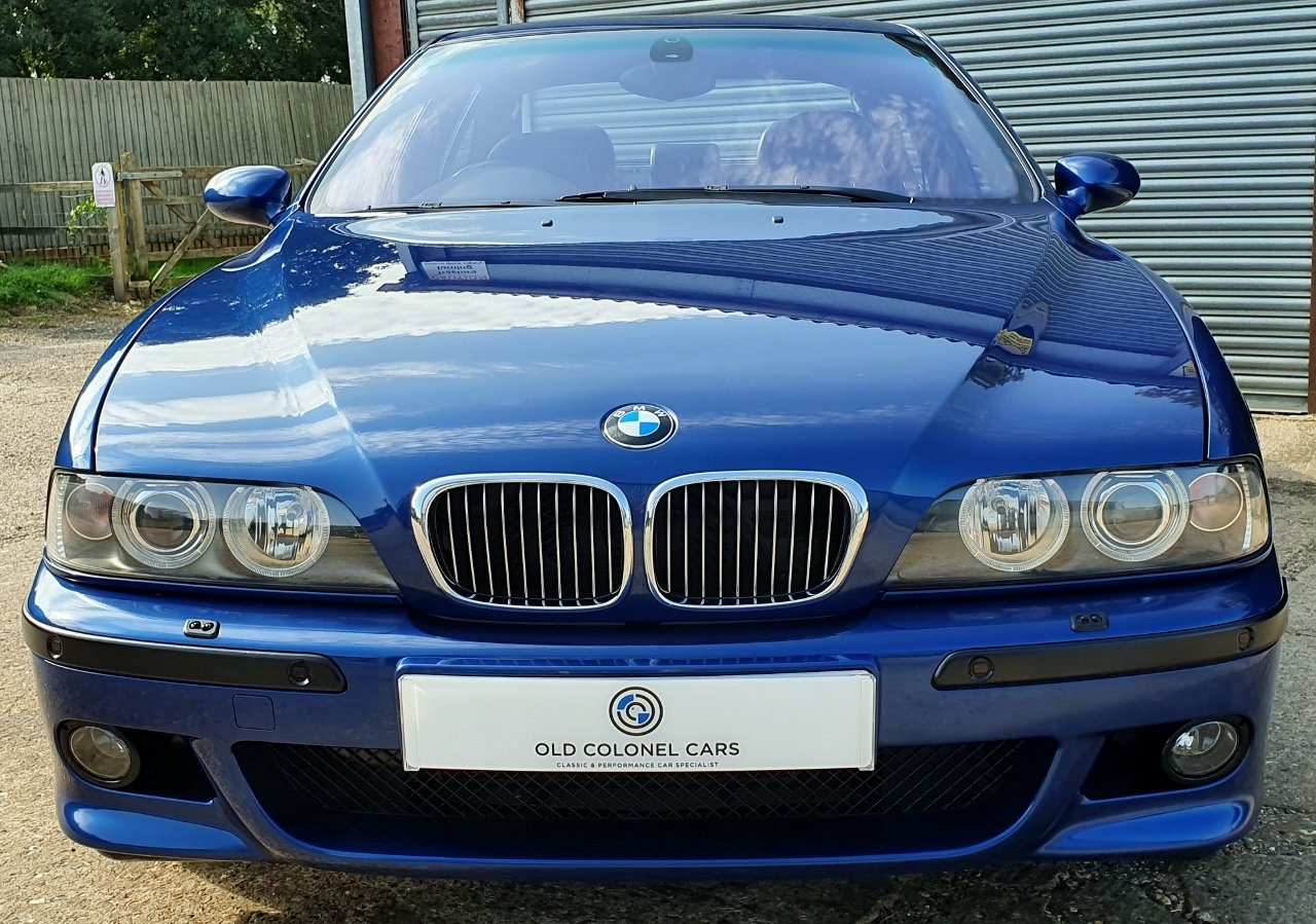 2001 Only 44,000 Miles - Le Mans Blue E39 M5 - Full History SOLD (picture 6 of 10)
