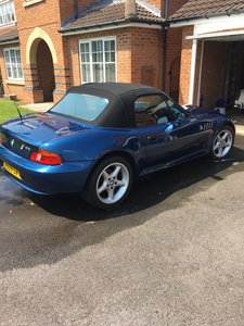 BMW Z3, 2.8  Low Miles, Hard Top Rare Interior