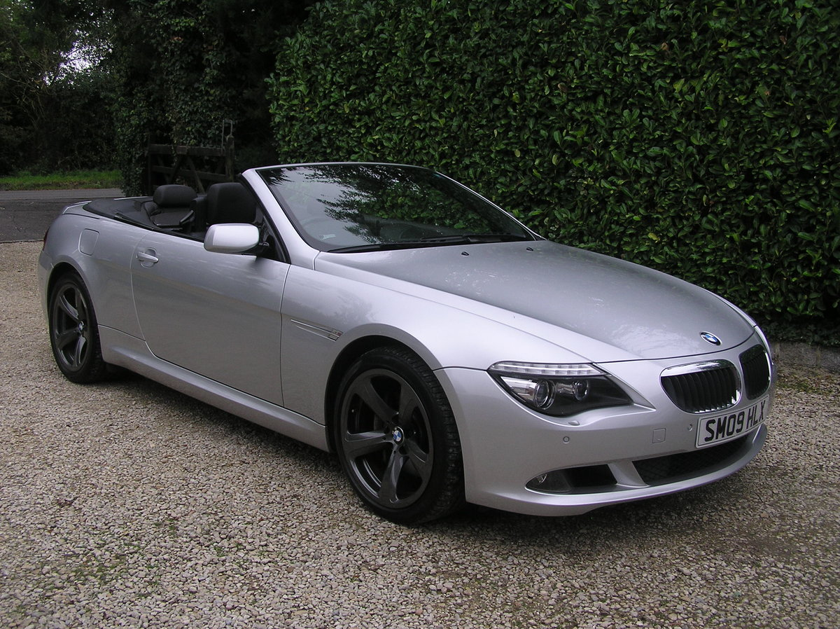 2009 bmw 635d sport convertible auto For Sale (picture 1 of 6)