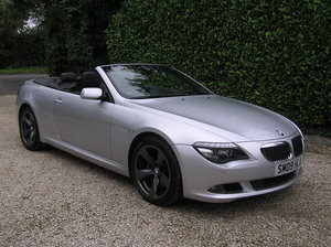 Picture of 2009 bmw 635d sport convertible auto For Sale