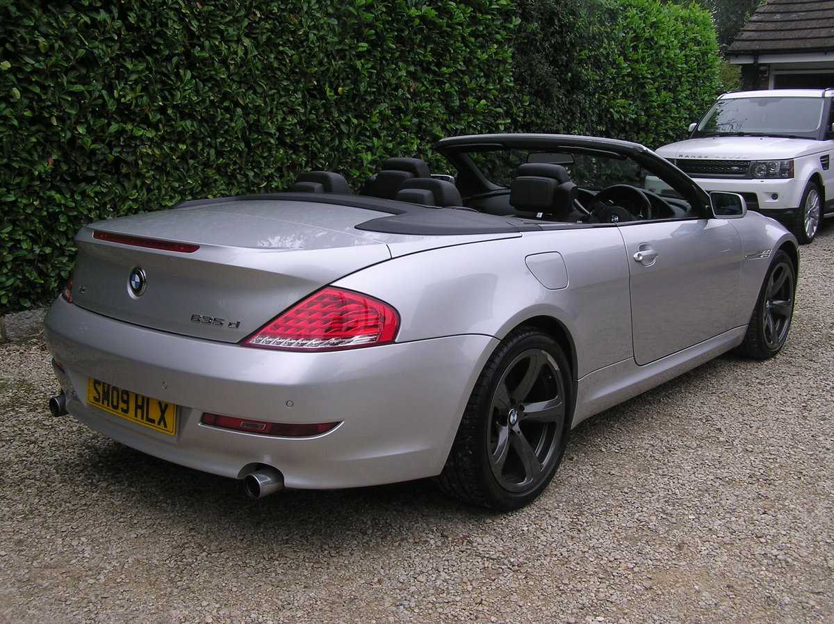 2009 bmw 635d sport convertible auto For Sale (picture 2 of 6)