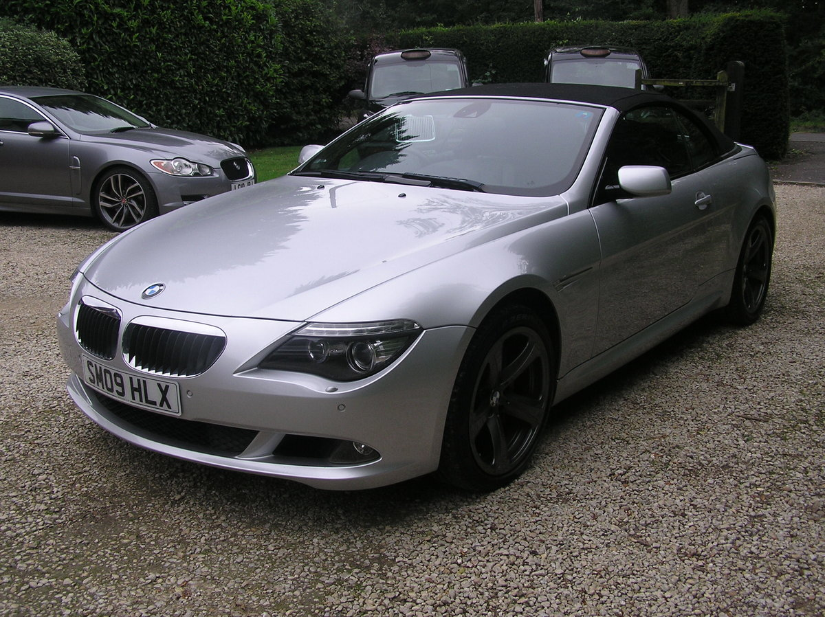 2009 bmw 635d sport convertible auto For Sale (picture 4 of 6)