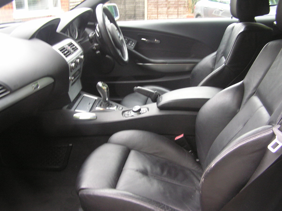 2009 bmw 635d sport convertible auto For Sale (picture 5 of 6)