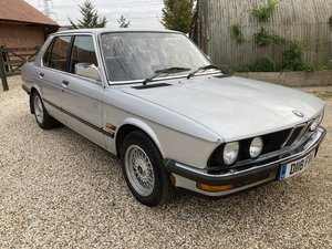 1986 garage  find rare bmw 525 pre auction sale lots of history