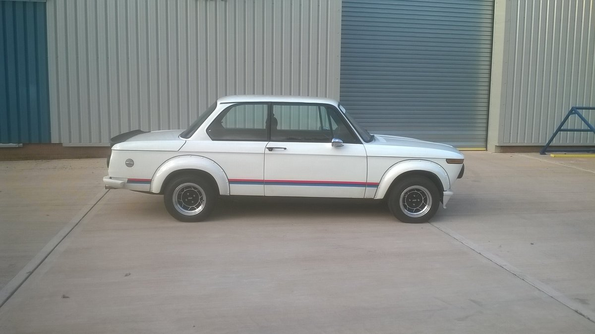 1973 BMW 2002 - Turbo Body - Twin Weber 45's For Sale (picture 1 of 6)