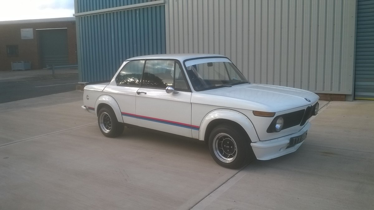 1973 BMW 2002 - Turbo Body - Twin Weber 45's For Sale (picture 3 of 6)