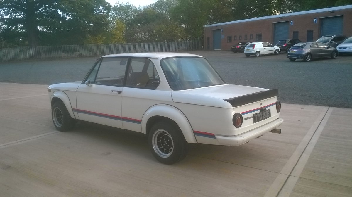 1973 BMW 2002 - Turbo Body - Twin Weber 45's For Sale (picture 6 of 6)