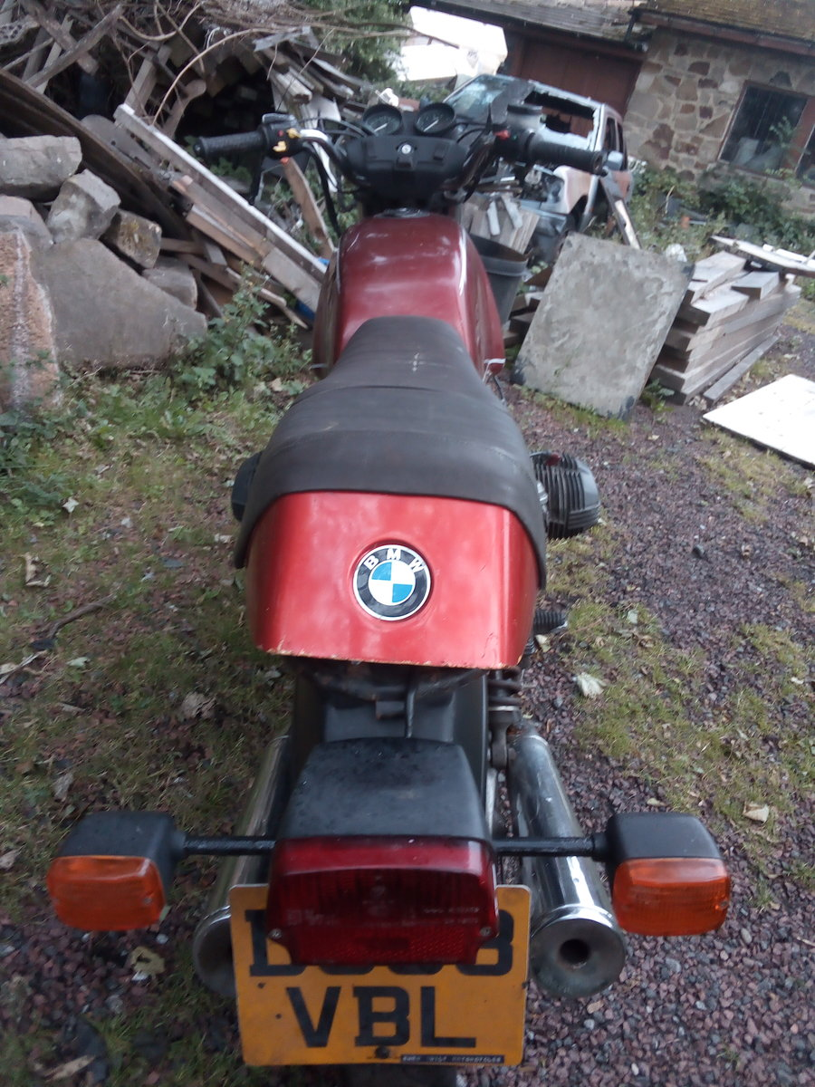 1987 bmw r80 monolever For Sale (picture 4 of 6)