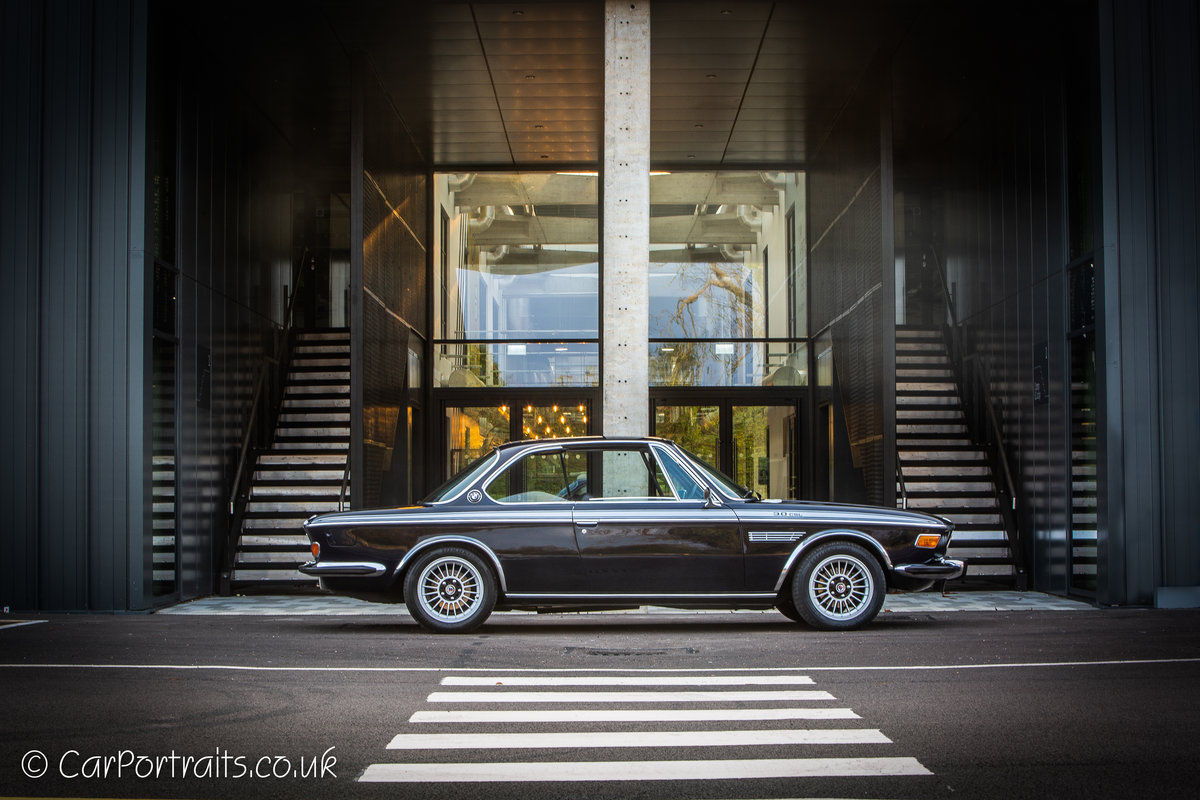 1973 BMW 3.0 CSL, UK RHD with City Pack. For Sale (picture 1 of 6)