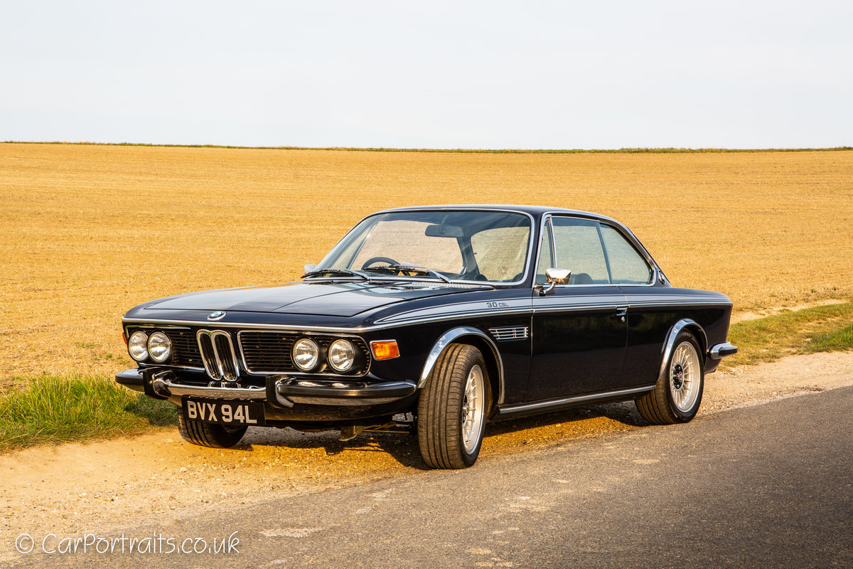 1973 BMW 3.0 CSL, UK RHD with City Pack. For Sale (picture 2 of 6)