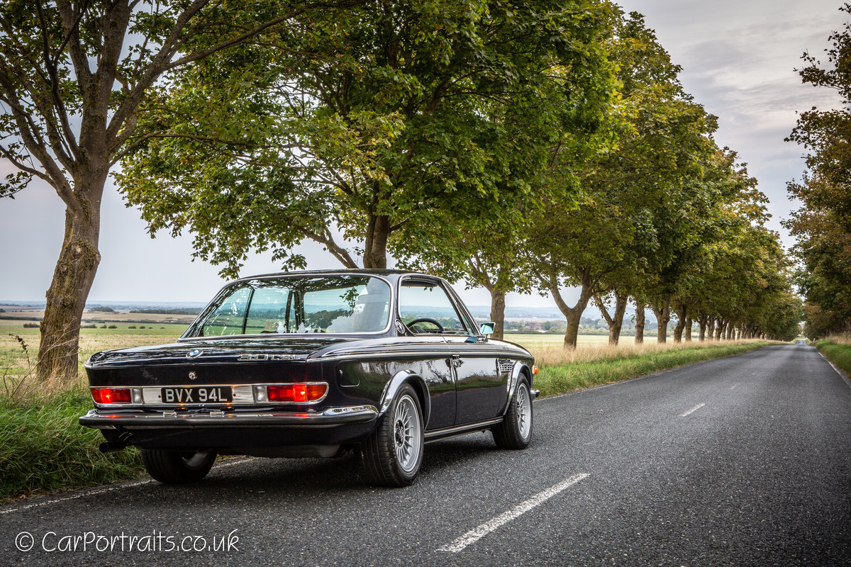 1973 BMW 3.0 CSL, UK RHD with City Pack. For Sale (picture 3 of 6)