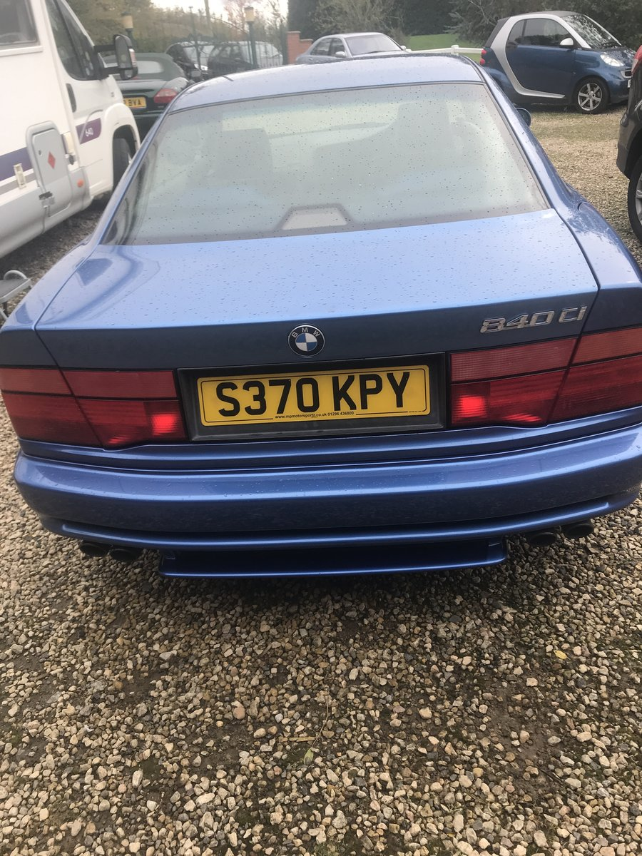 Picture of 1998 BMW 840Ci For Sale