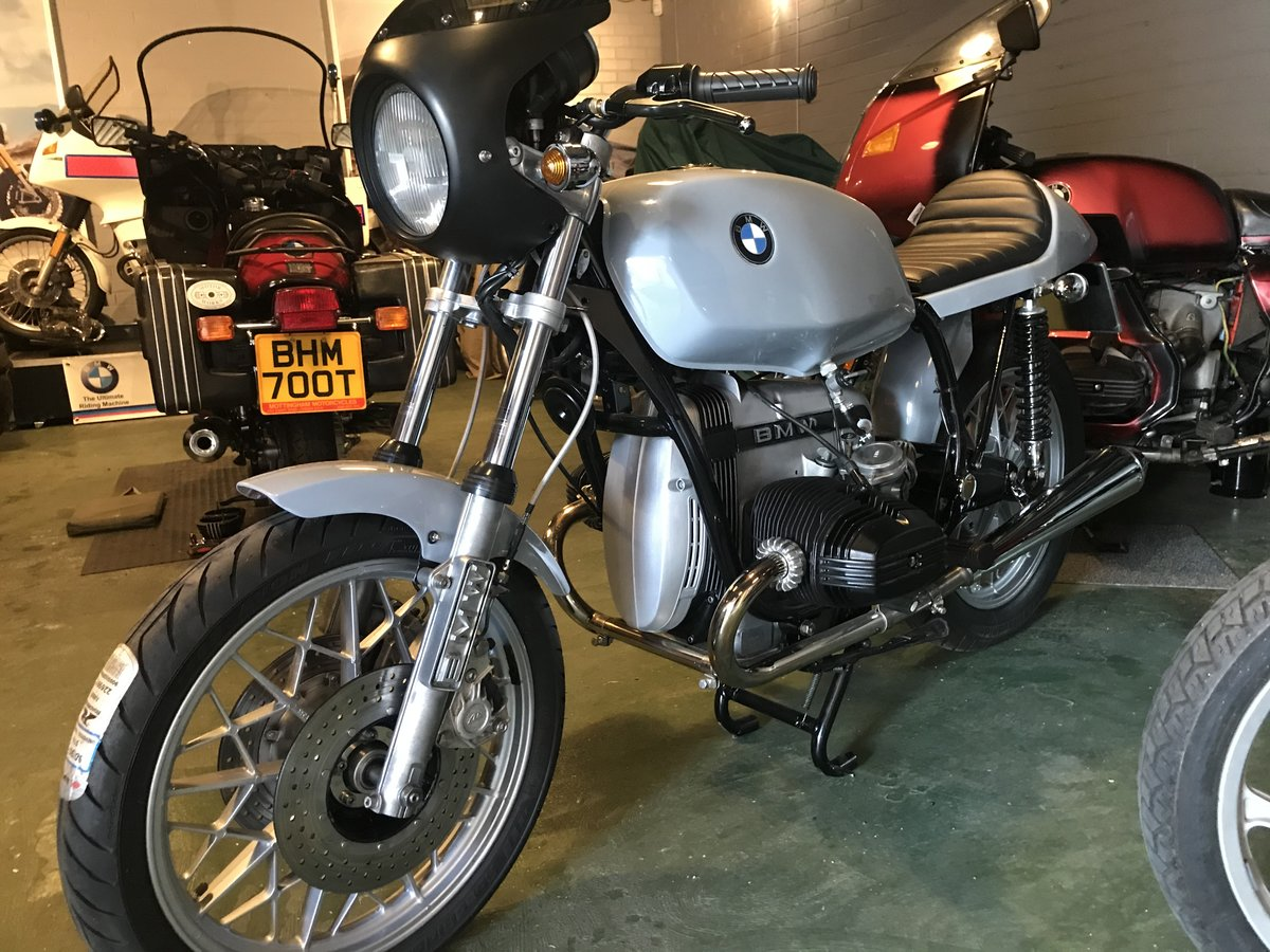 1980 Stunning BMW R65, mild custom, brand new build. For Sale (picture 1 of 6)