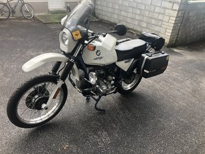 Rare basic bmw r80gs