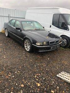 BMW 740i sport,4.4 V8 auto. Spares or repairs.
