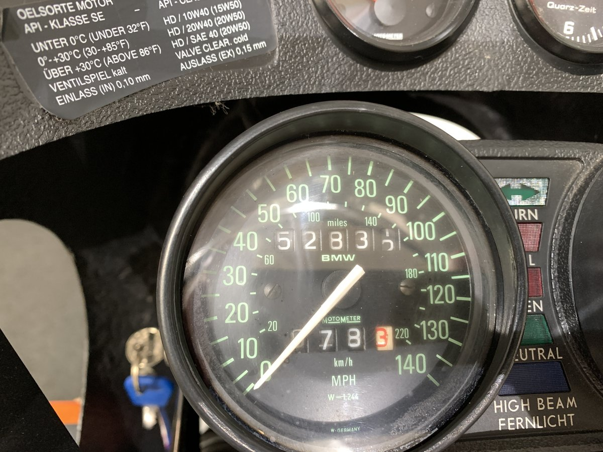 1985 1984 BMW R800  For Sale (picture 4 of 6)