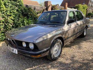 Picture of 1988 RARE BMW E28 525 LUX 2.7 ETA H&H CLASSIC ONLINE AUCTION   For Sale