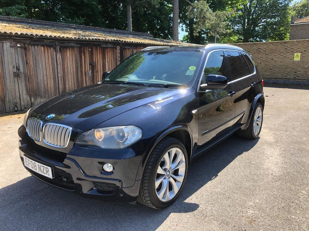 """2008 """"08 Plate """"BMW X5 3.0 SD Twin Turbo M Sport For Sale (picture 1 of 6)"""