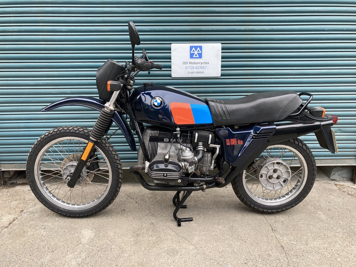 1983 BMW R80G/S  38k. Good condition. For Sale (picture 1 of 6)