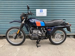 Picture of 1983 BMW R80G/S  38k. Good condition.