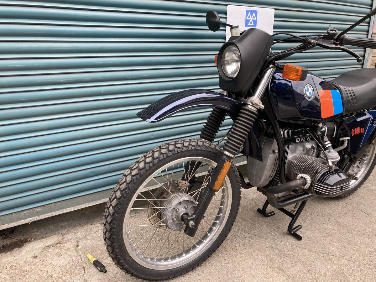1983 BMW R80G/S  38k. Good condition. For Sale (picture 2 of 6)