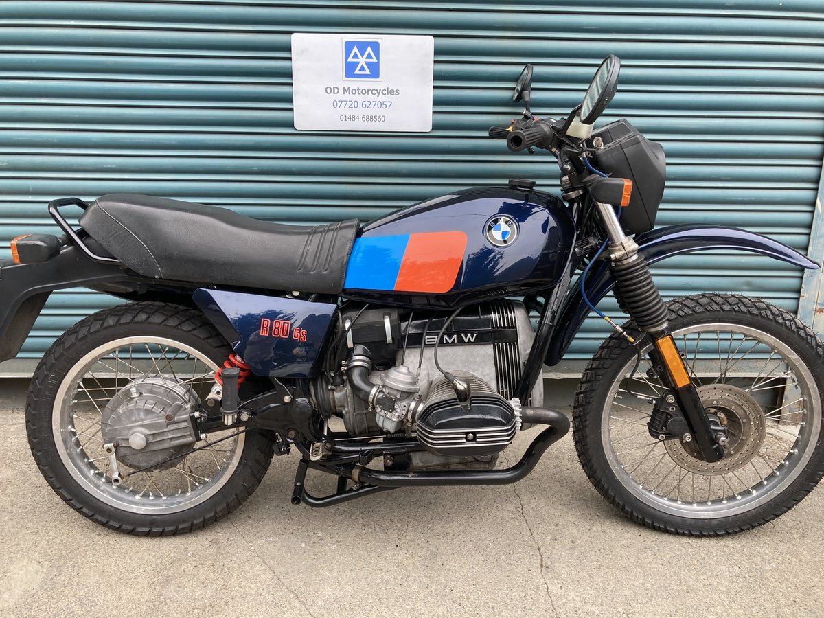 1983 BMW R80G/S  38k. Good condition. For Sale (picture 3 of 6)