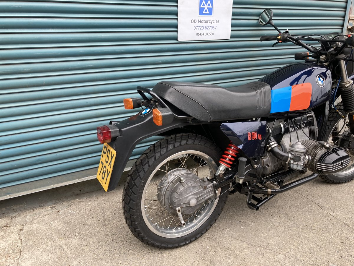 1983 BMW R80G/S  38k. Good condition. For Sale (picture 4 of 6)