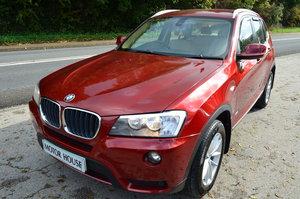 BMW X3 X DRIVE 2.0 SE AUTO LOW MILES