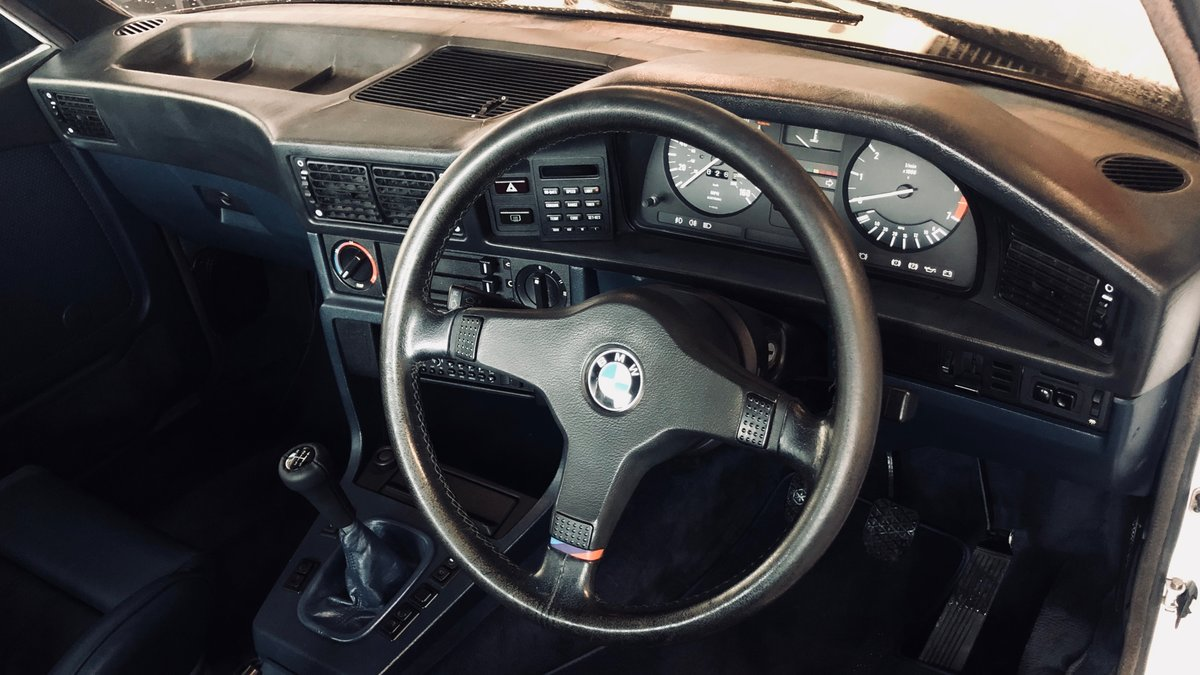 1986 BMW M535i E28 dog leg manual SOLD (picture 4 of 6)
