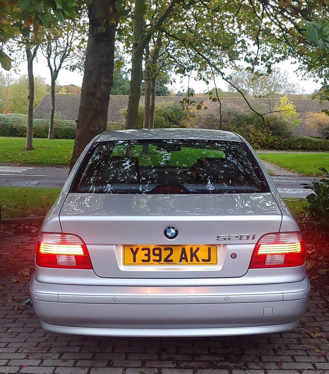 2001 Very well looked after 5 series BMW e39 For Sale (picture 1 of 6)
