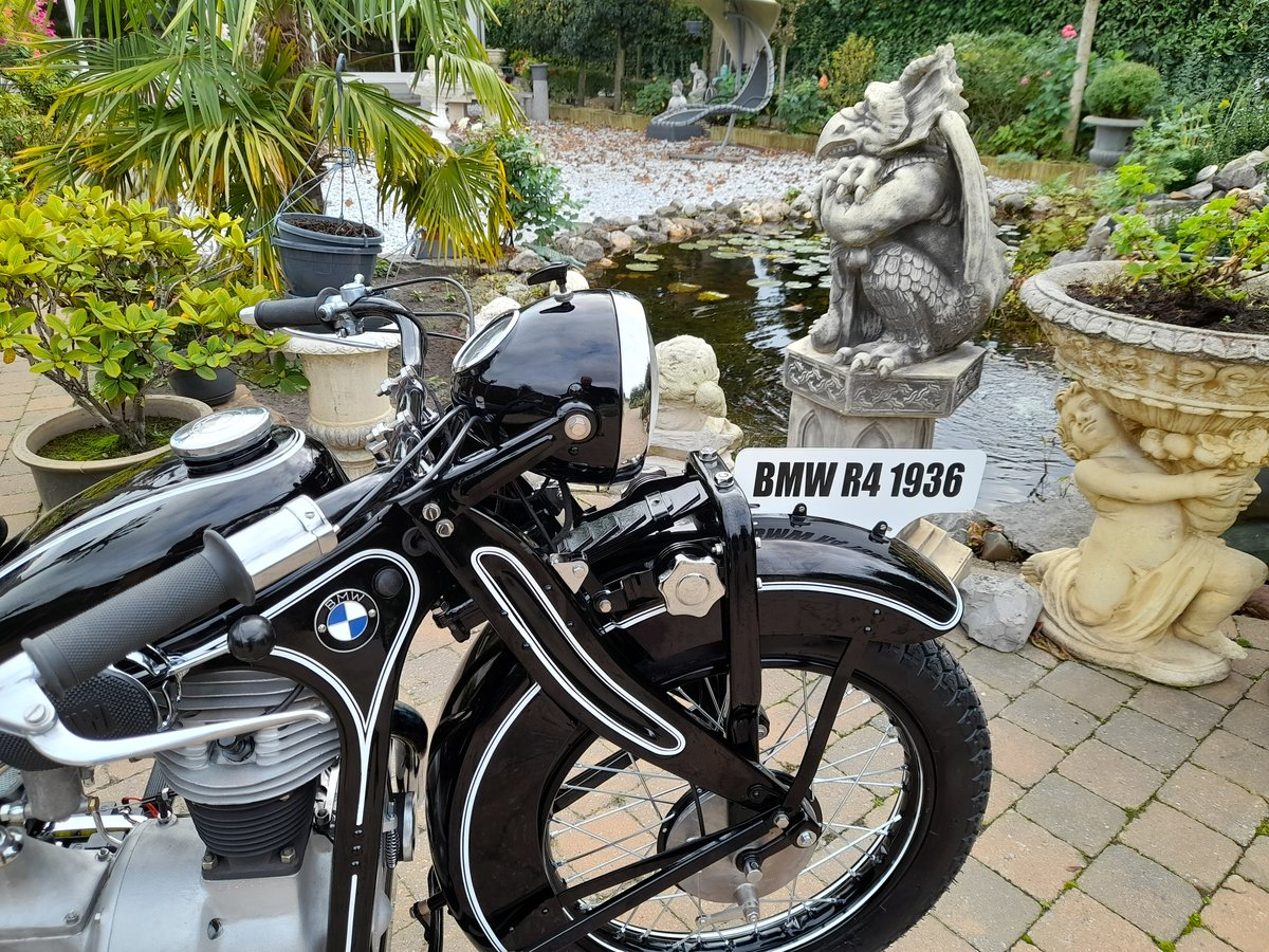 1936 BMW R4 SOLD (picture 2 of 6)