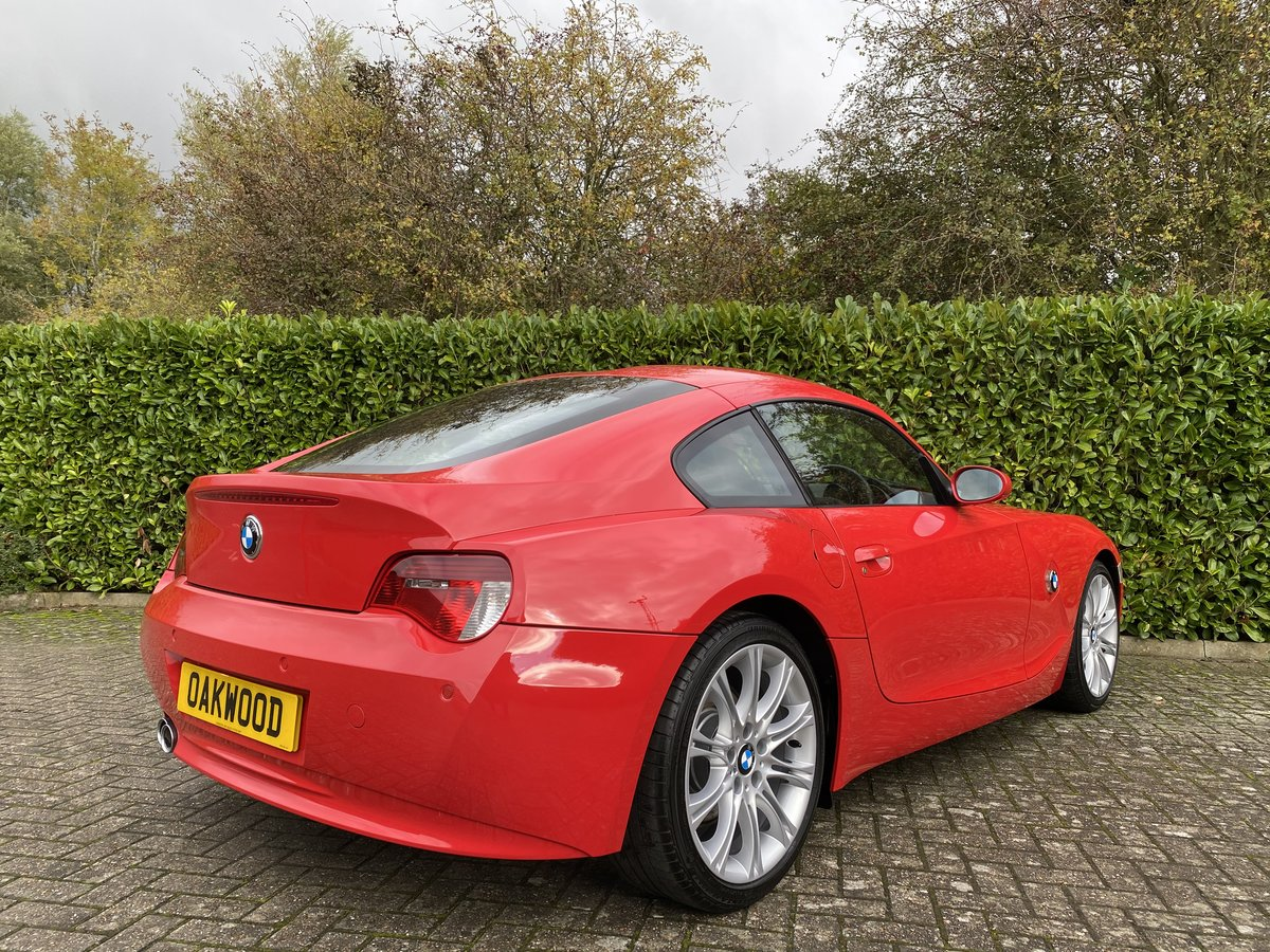 2007 An EXCEPTIONAL & RARE Manual BMW Z4 3.0Si Sport Coupe - 41k  For Sale (picture 2 of 6)