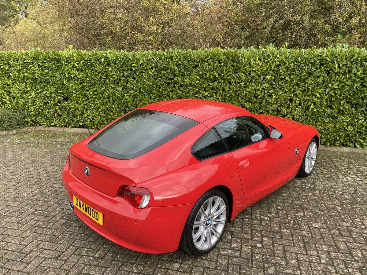 2007 An EXCEPTIONAL & RARE Manual BMW Z4 3.0Si Sport Coupe - 41k  For Sale (picture 3 of 6)