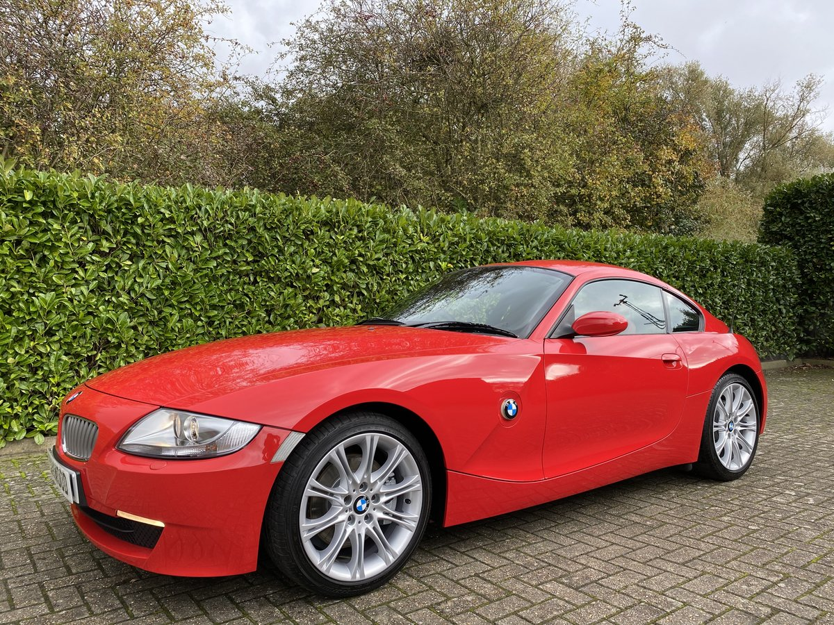 2007 An EXCEPTIONAL & RARE Manual BMW Z4 3.0Si Sport Coupe - 41k  For Sale (picture 4 of 6)