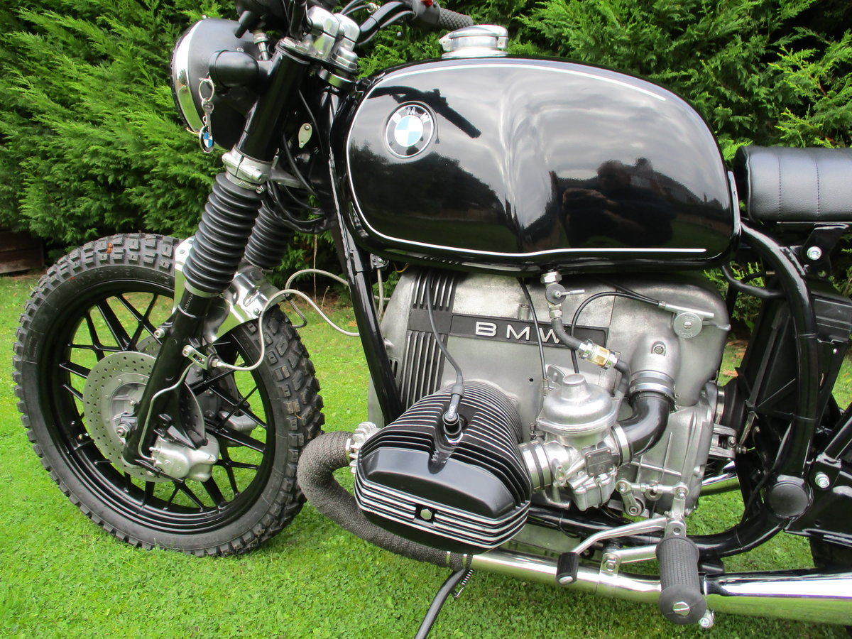 1980 Bmw r100 custom bobber For Sale (picture 5 of 6)