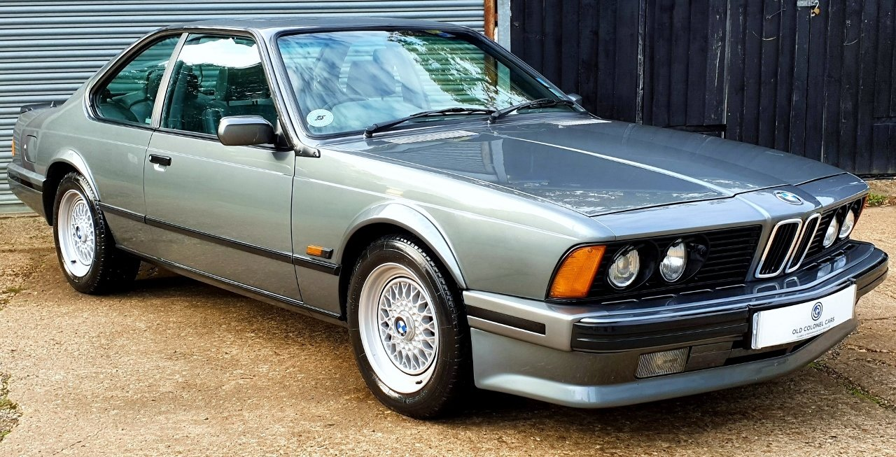 1989 Only 65,000 Miles - Stunning BMW E24 635 CSI HIGHLINE For Sale (picture 2 of 10)