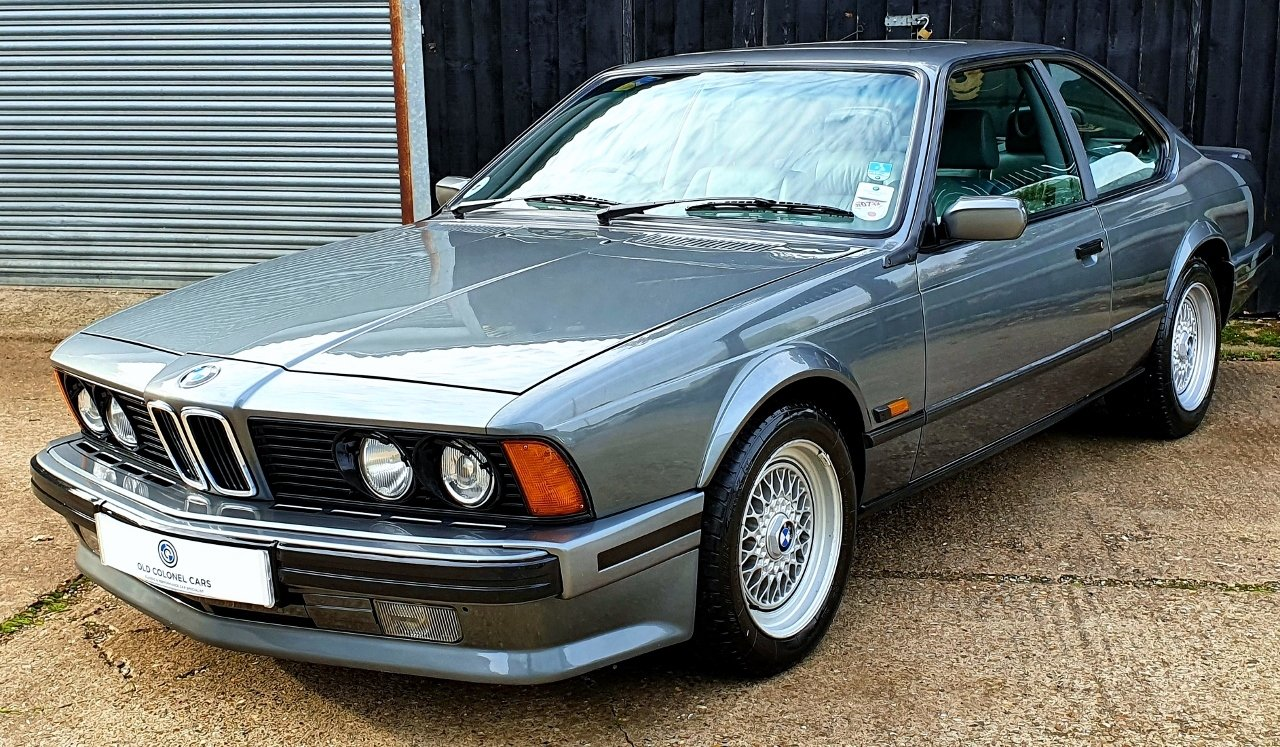 1989 Only 65,000 Miles - Stunning BMW E24 635 CSI HIGHLINE For Sale (picture 3 of 10)