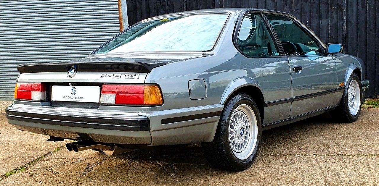1989 Only 65,000 Miles - Stunning BMW E24 635 CSI HIGHLINE For Sale (picture 4 of 10)
