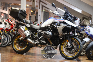 BMW R1250 HP Rallye TE with Sat Nav V1