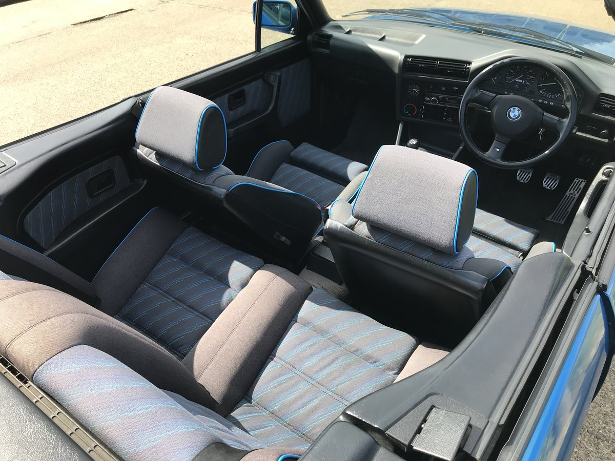 1991 BMW E30 318i M TECH 2 Manual Design Edition For Sale (picture 6 of 6)