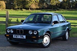 1988 BMW 320i Manual (e30) Mineral Blue, 45K