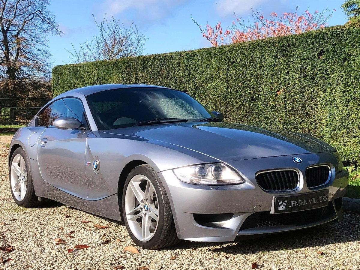 2006 BMW Z4 M Coupe **ONLY 22,000 Miles, FBMWSH, Showroom Spec** For Sale (picture 1 of 6)