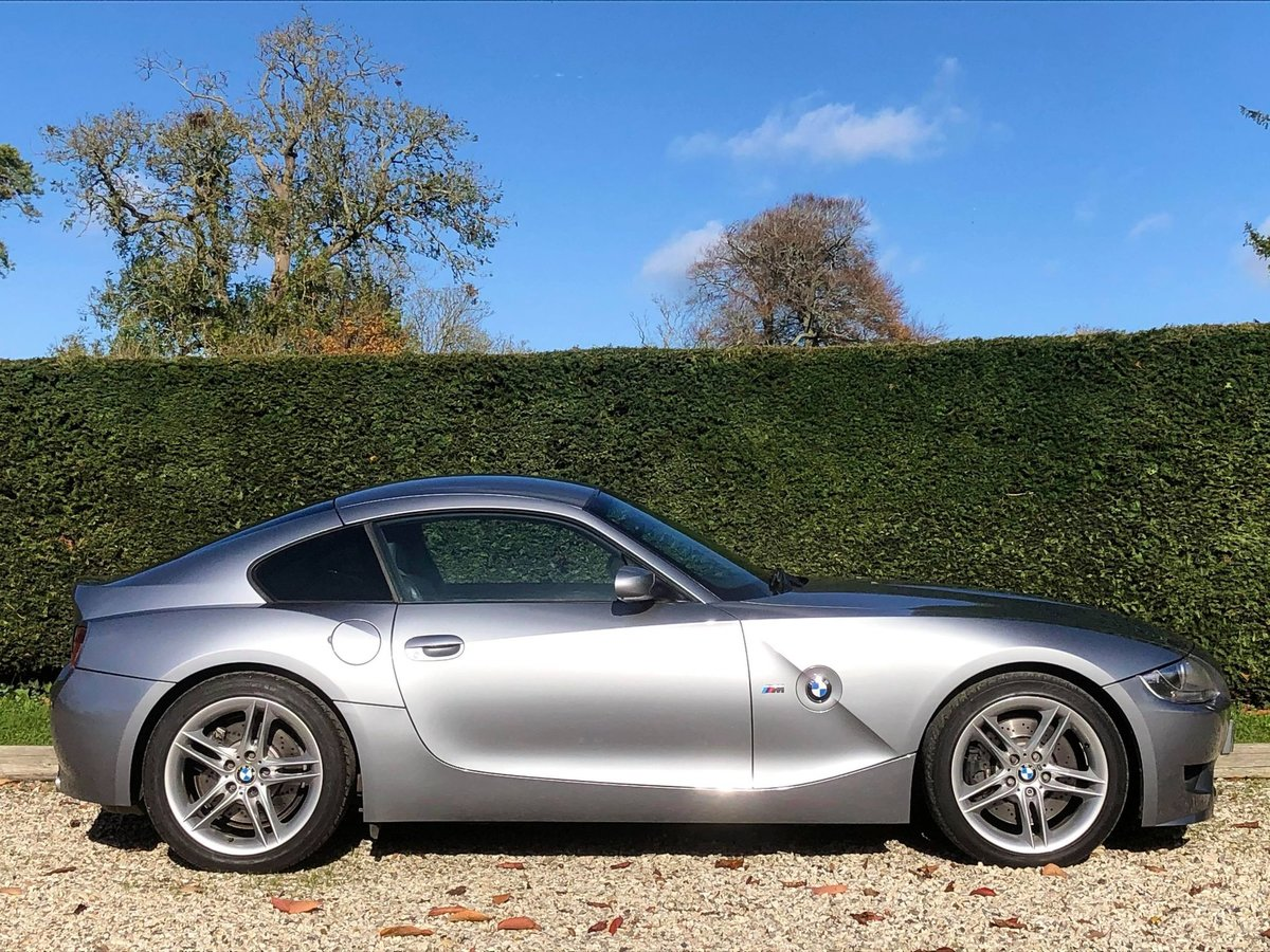2006 BMW Z4 M Coupe **ONLY 22,000 Miles, FBMWSH, Showroom Spec** For Sale (picture 2 of 6)
